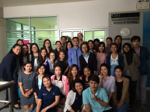 """Extend an invitation for Speaker in issue """"The principle of Dialysis machine"""" at Rangsit university"""